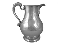 Georgian Silver Beer Jug 1755